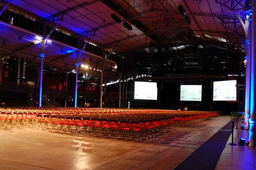 Grande Halle de la Villette à Paris - Festival OFFF