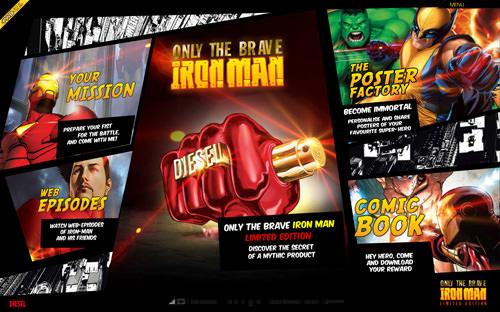 Only the brave x Iron man - Hellohikimori