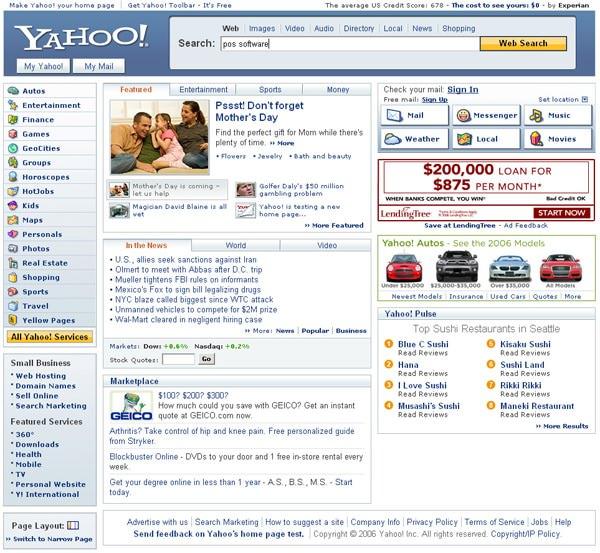 Yahoo 2006