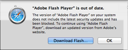 Apple bloque le Flash Player