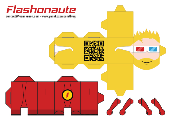 papercraft flashonaute